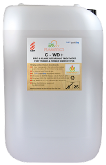 Flametect C-WD Fire Retardant  Treatment for  Timber. 25 Litre